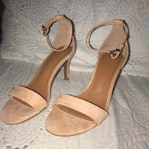 Forever21 nude/blush heels